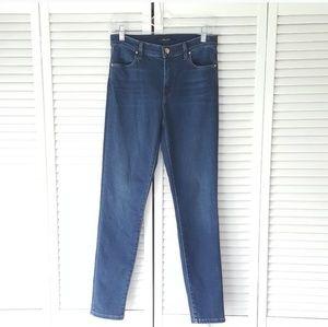 J BRAND Dark Wash High Rise Skinny Jeans 28